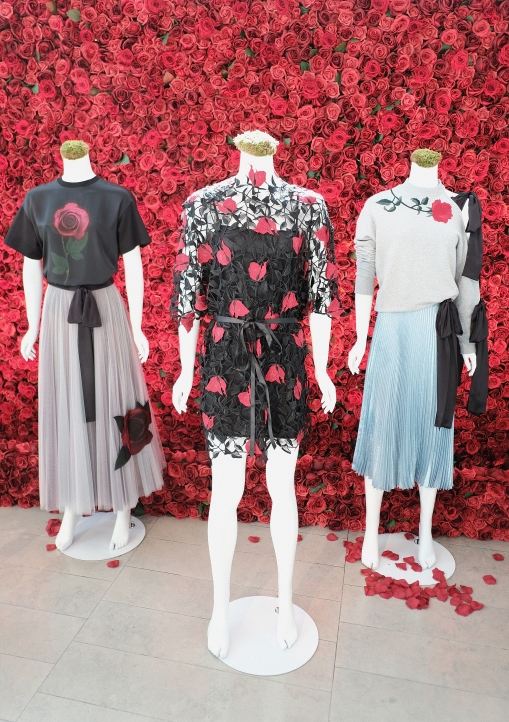 NEW YORK, NY - MARCH 13: The Christopher Kane / Disney Collection on display at Disney's Beauty and the Beast Product Showcase at Lincoln Center on March 13, 2017 in New York City. (Photo by Jason Kempin/Getty Images for Disney )