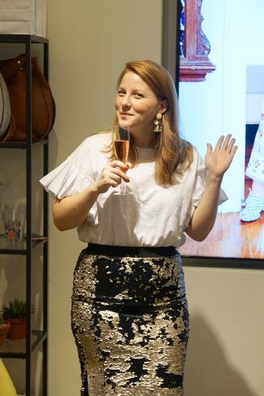 Alexandra Amarotico, Social Media Manager of Eloquii