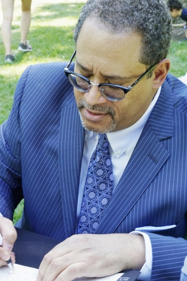 Michael Eric Dyson, Georgetown Professor and radio host.