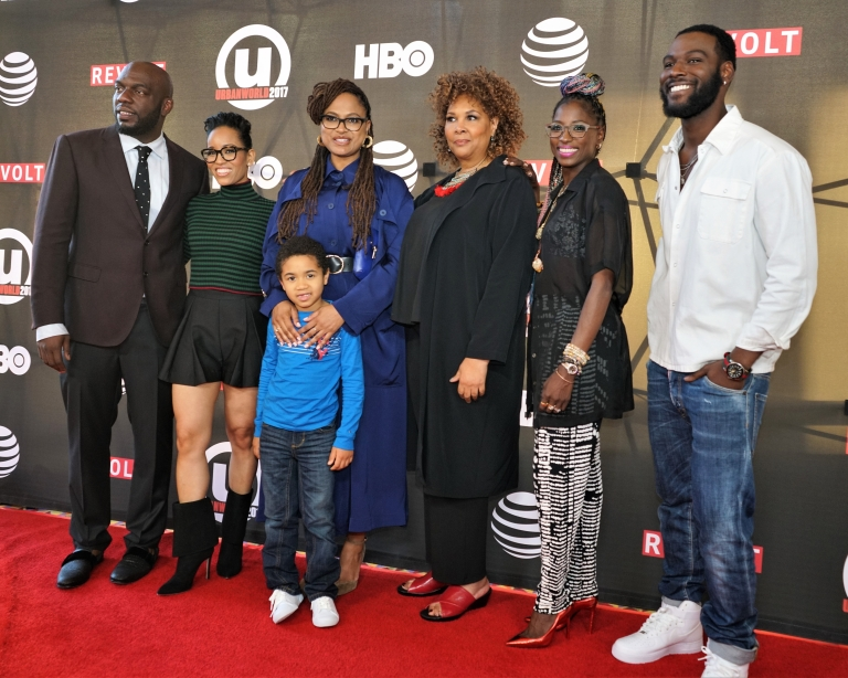 Queen Sugar cast at the Urbanworld Film Festival 2017
