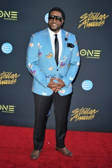CANTON JONES, GOSPEL ARTIST AND PERFORMER AT THE STELLAR AWARDS 2018